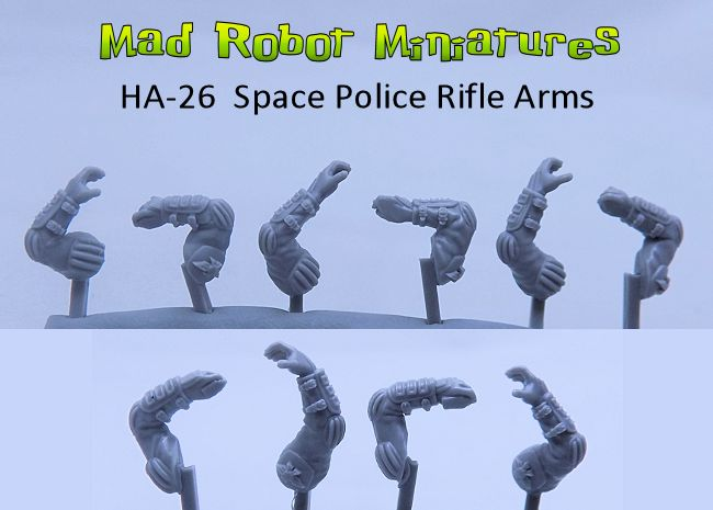 Space Police Rifle Arms