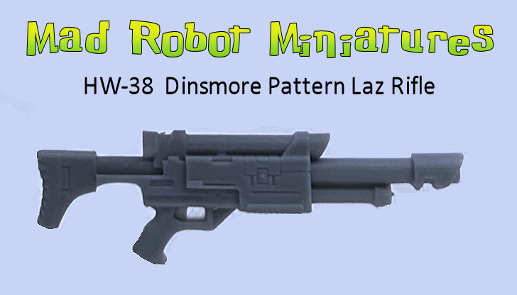 Dinsmore Pattern Laz Rifle